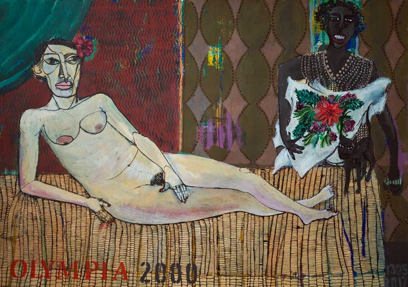 Olympia 2000, 2017, MT 50 x 65 cm