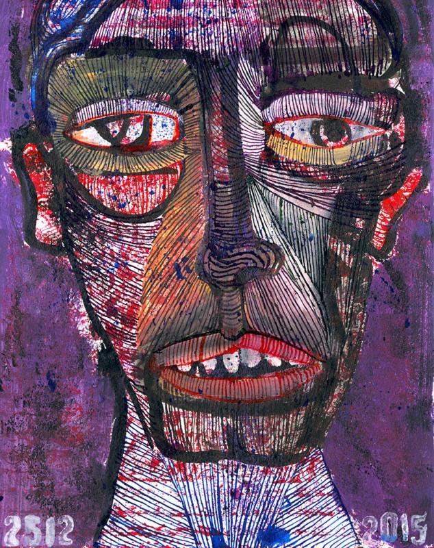 Tusche, 2015, 24 x 32 cm