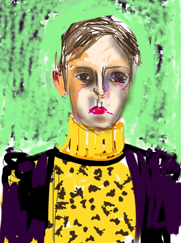iPhone Zeichnung/ArtStudio 2592 x 1936 Pixel
