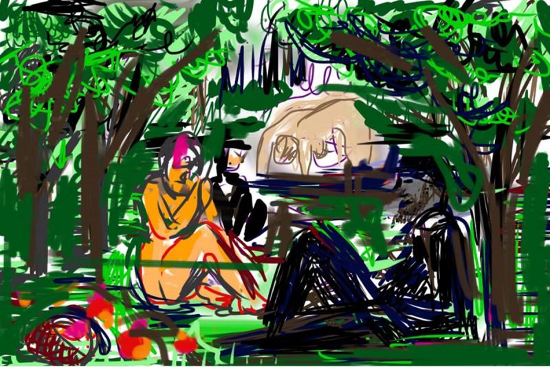 iPhone Zeichnung/ArtStudio 640 x 960 Pixel