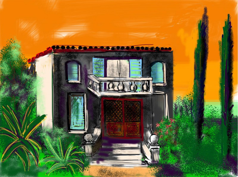 iPhone Zeichnung/ArtStudio 1936 x 2592 Pixel